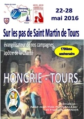 4 pages tract hongrie tours
