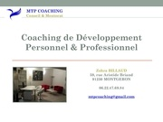 zohra billaud mtp coaching