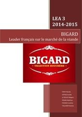 etude de document bigard le douce megane