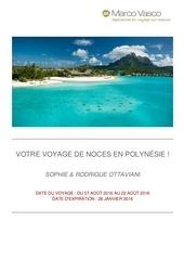 voyage de noce en polynesie de sophie rodrique 210307