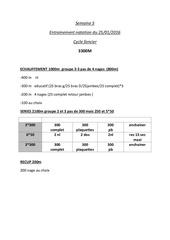 Fichier PDF natation semaine 5