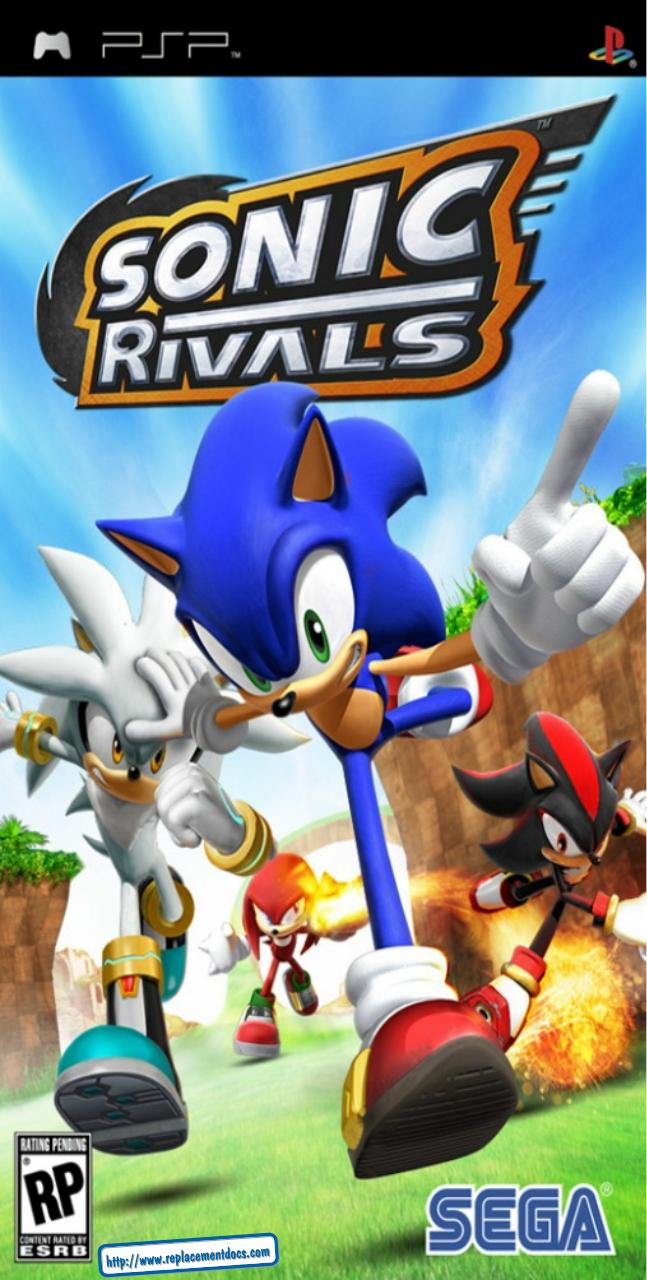 Sonic Rivals Manual Psp Fichier Pdf