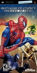 spider man friend or foe manual psp