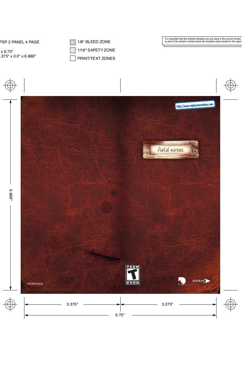 Tomb Raider - Legend - Manual - PSP - Fichier PDF