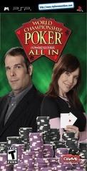 world championship poker manual psp