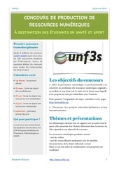concours unf3s