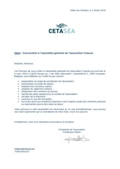 convocation assemblee generale association cetasea 2016