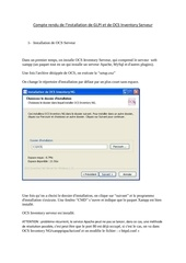 Fichier PDF installation de ocs et glpi avec xamp server