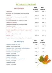 liste baguettes final25 09 2015 1