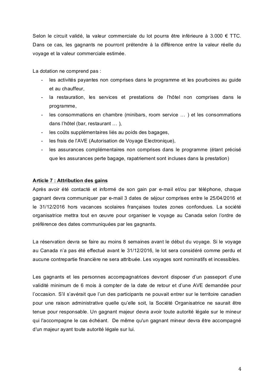 Règlement complet jeu Canadian TRIP BuffaloGrill.pdf - page 4/7