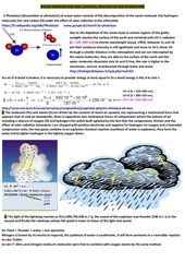 water training rain real chemical reaction in our atmosphere
