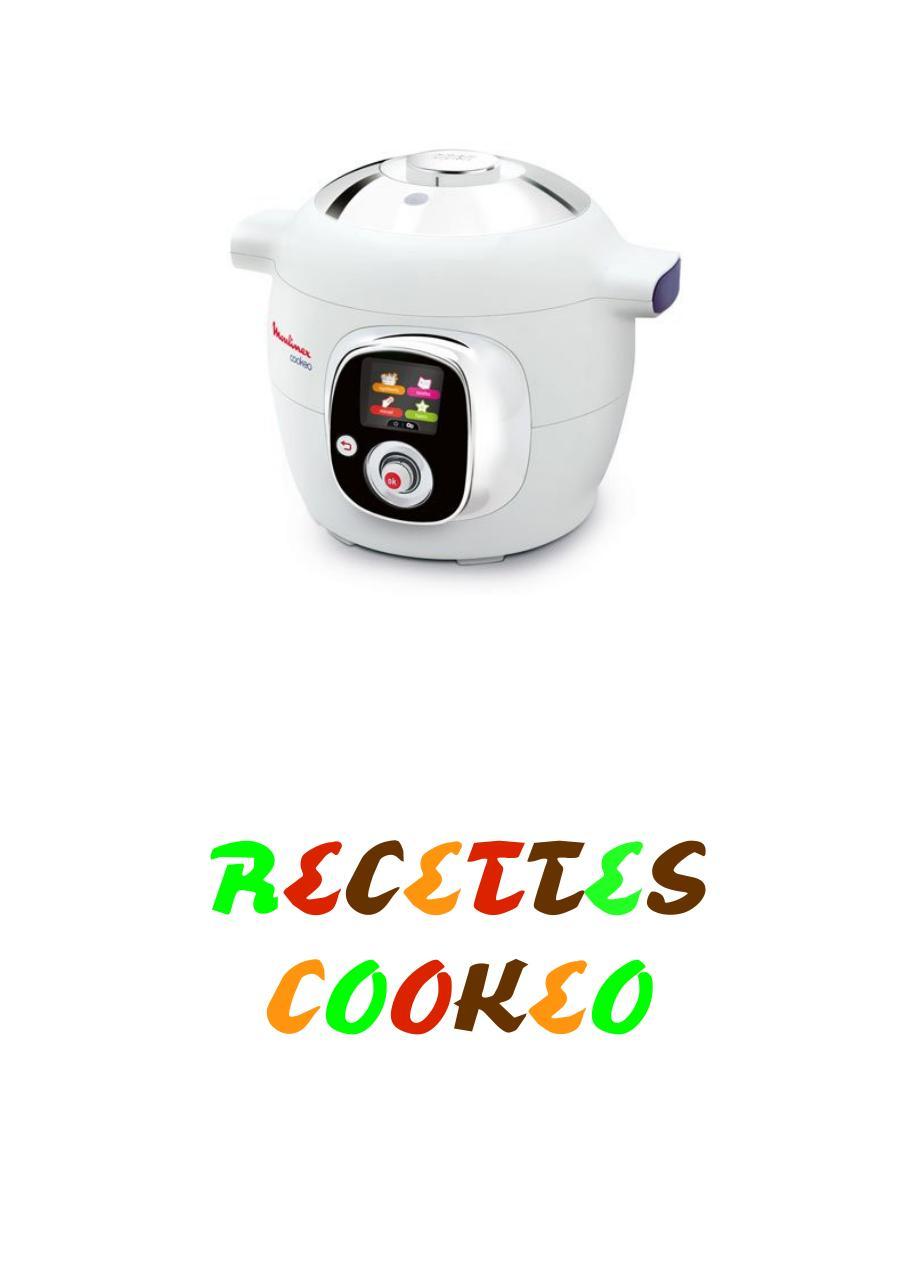 Cookeo Livre Entier En Pdf Par Valeria Fichier Pdf