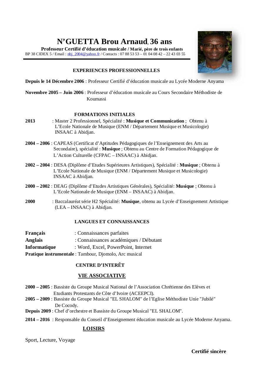 Aperçu du document CV actualisé NBA 2016.pdf - page 1/1