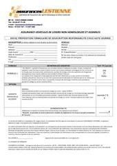 formulaire auto rc journee 2015