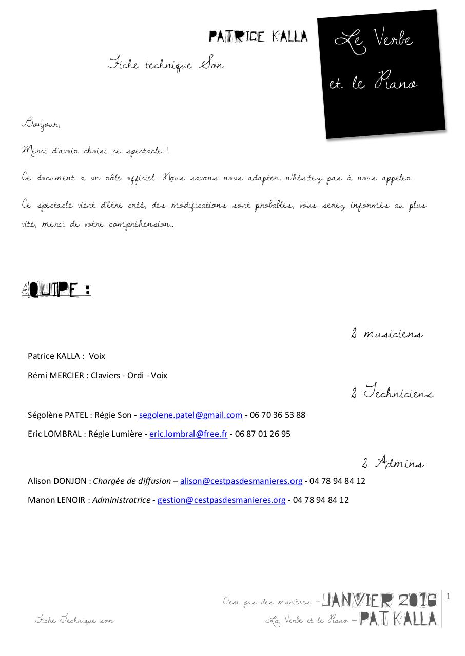 Aperçu du document FT Le Verbe et le piano-PAT  KALLA-janv2016.pdf - page 1/3