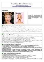 visage 15 maquillage quotidien du visage coeur
