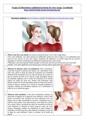 Fichier PDF visage 3 determinez la forme 2e methode