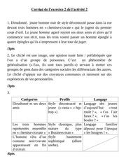 corrige exercice 2 activite 2 comprehension de la bd