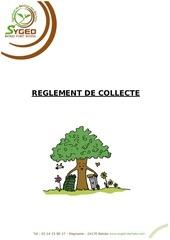 reglement de collecte bis 1