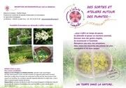 des sorties et ateliers autour des plantes