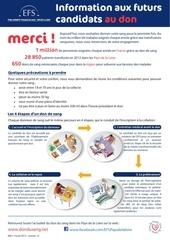 efs information futur candidat au don 2013