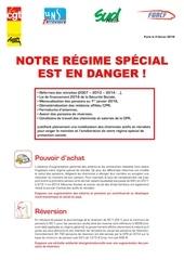 regime en danger
