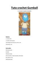 Fichier PDF tuto crochet gumball par mesailes creation