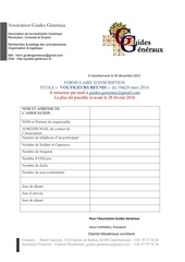 invitation ecole voltigeurs formulaire