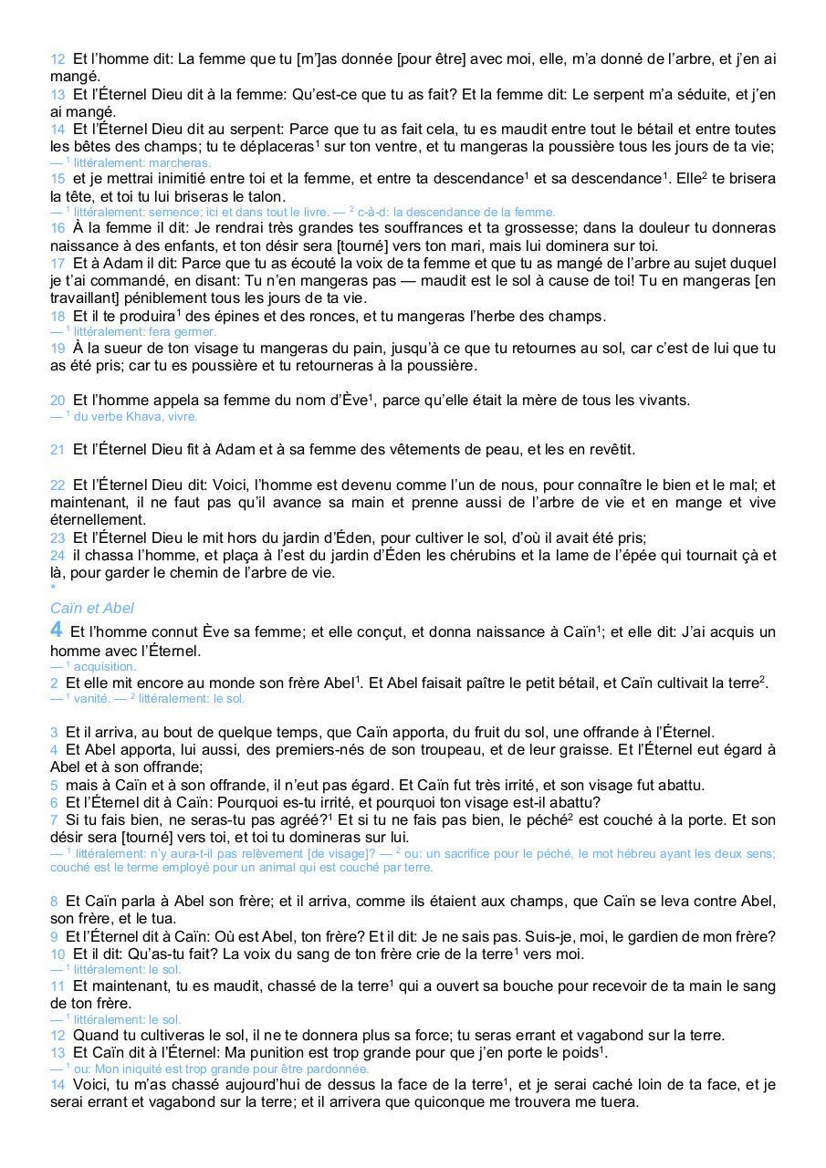 la bible darby pdf