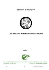 communaute saint jean le livre noir
