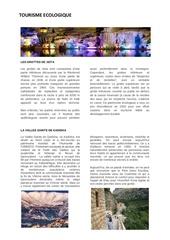 guide tourisme liban