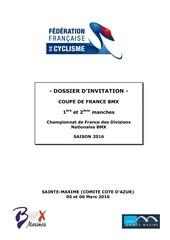 invitation coupe de france bmx 2016 ste maxime