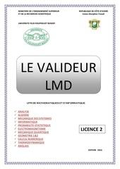 le valideur 2016 licence 2
