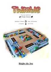 regle du jeu thimble