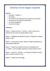Fichier PDF cre ation d une bague originale fiche pdf