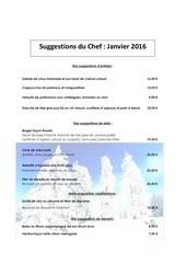 suggestions du chef resto fevrier 2016 1