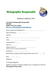 Fichier PDF bulletin adhesion 2016 demographie responsable