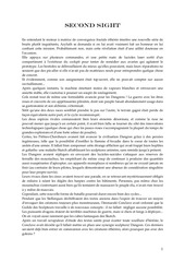 Fichier PDF second sight