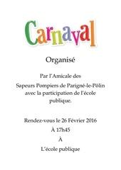 carnaval 26 fevrier 2016