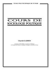 cours sociologie politique introduction
