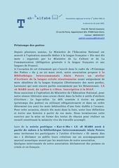 facebook atelier ecriture creole et kabar e mo biap