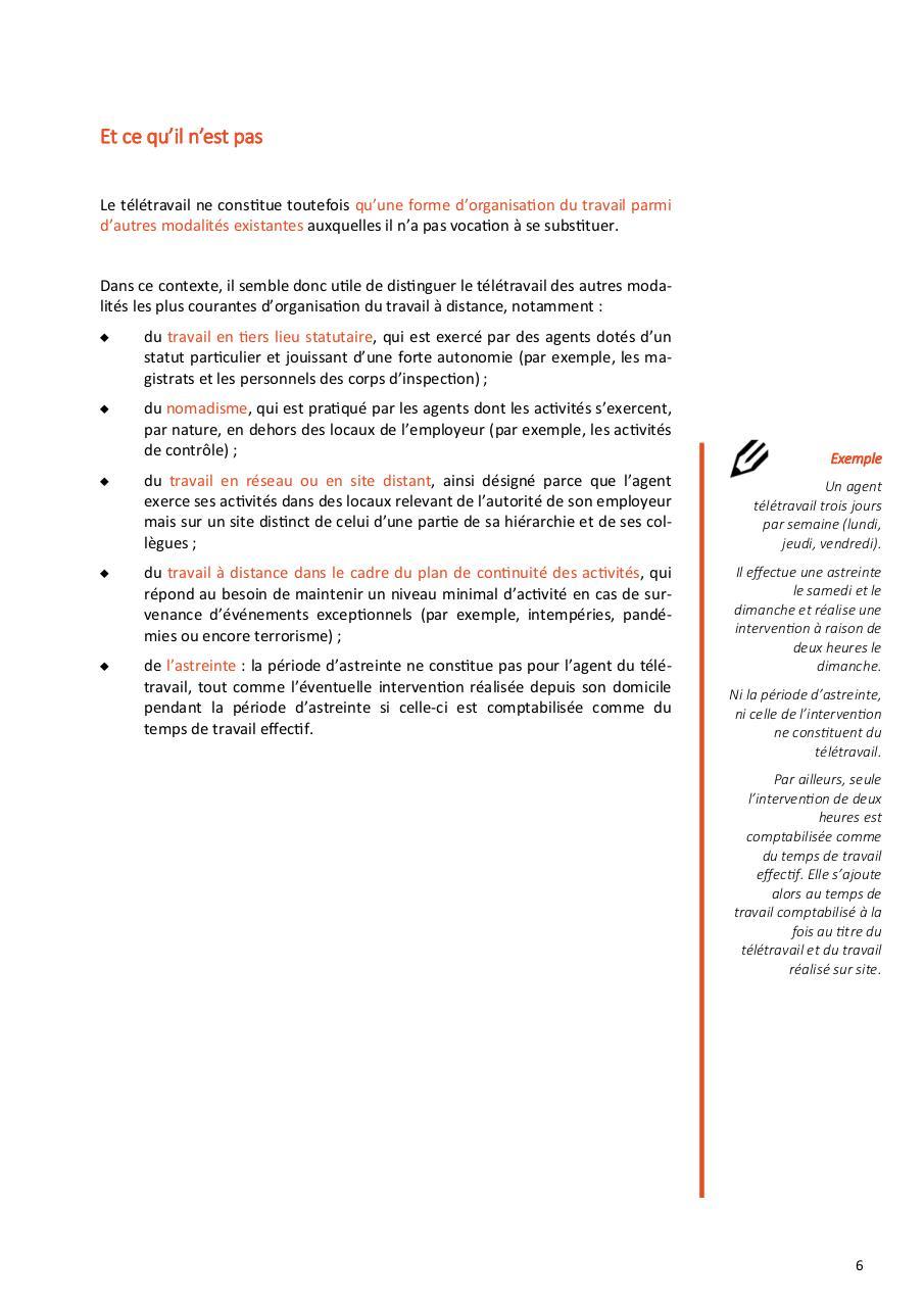 2016 01 11 Guide Teletravail V6 Pub Par Mhperrin Adc Guide Dgafp