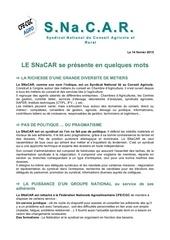 Fichier PDF presentation snacar