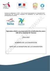projet de convention de revitalisation 15 janvier 2016