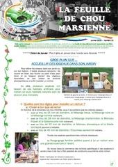 feuille de chou marsienne 16 janvier 2016