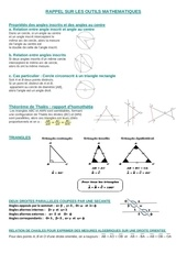 rappel de mathematiques