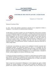 lettre secretaire d etat