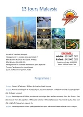 programme malaysia 13 days