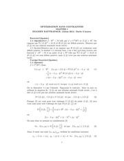 exame et corrige rattrapage master optimisation 2014