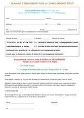 formulaire engagement mini pdf